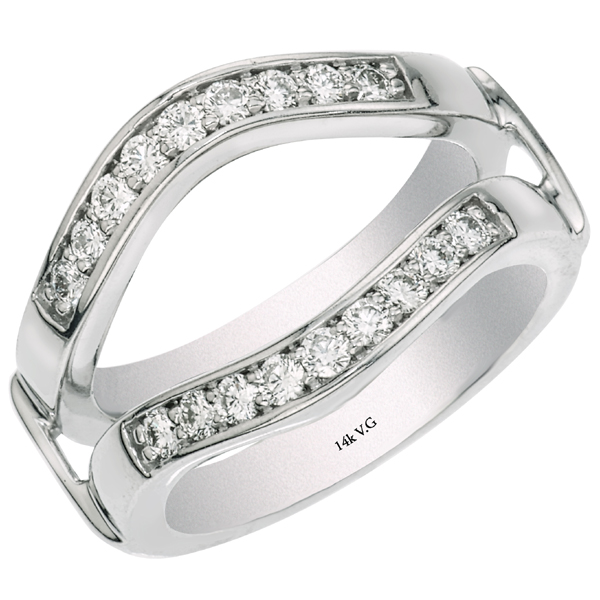 Insert Curve Wedding Band Rings