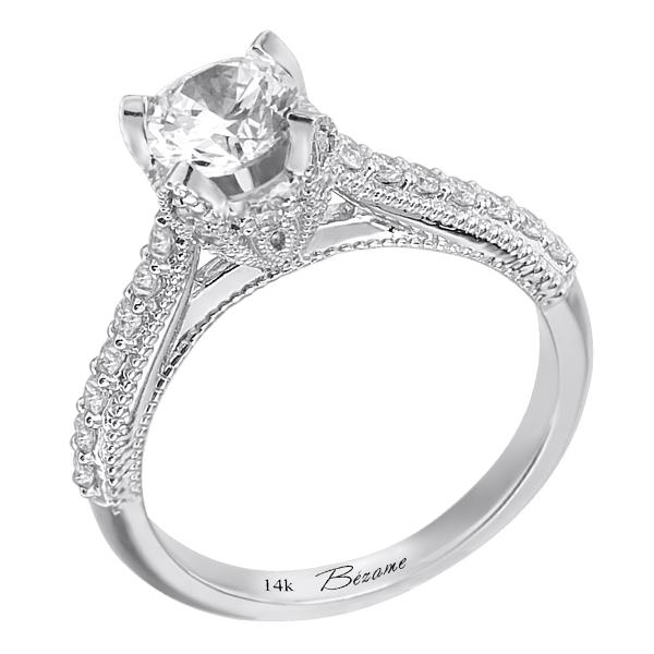 The Diamond Divas Of Way Fil Jewelry 14k White Gold Wedding Band